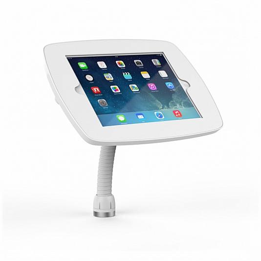 Tablet kiosk Flex white