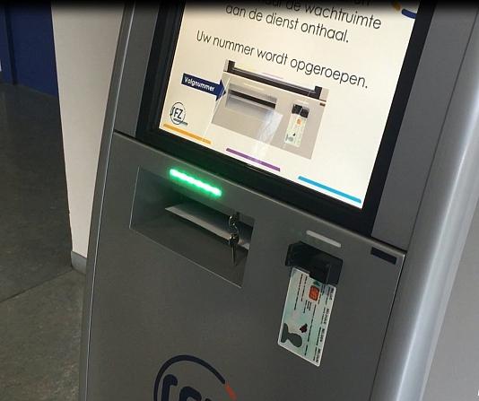led indicator kiosk ziekenhuis